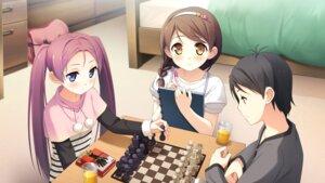 Rating: Safe Score: 31 Tags: cube fujimura_natsuki game_cg hirosaki_kanade kantoku nagamine_tomoki your_diary User: abdulaziz5