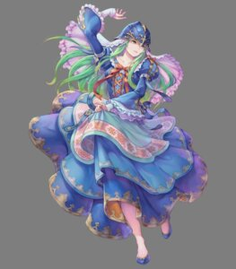 Rating: Questionable Score: 7 Tags: dress fire_emblem fire_emblem:_souen_no_kiseki fire_emblem_heroes haccan nephenee nintendo skirt_lift User: fly24