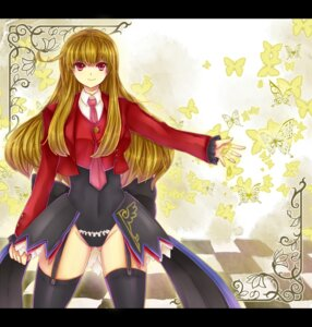 Rating: Safe Score: 10 Tags: mammon myth-4 thighhighs umineko_no_naku_koro_ni User: charunetra