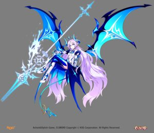 Rating: Safe Score: 36 Tags: cleavage elsword heels horns lu_(elsword) no_bra pointy_ears tagme tail thighhighs transparent_png weapon wings User: Nepcoheart
