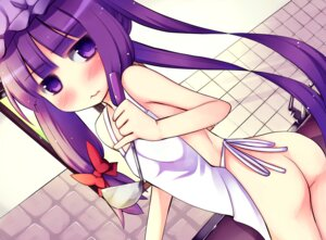 Rating: Questionable Score: 34 Tags: akino_sora ass loli naked_apron patchouli_knowledge touhou User: blooregardo
