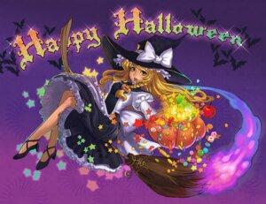 Rating: Safe Score: 8 Tags: halloween kirisame_marisa touhou witch yukiusagi1983 User: Mr_GT