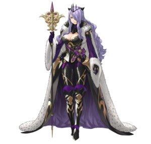Rating: Questionable Score: 10 Tags: armor camilla cleavage fire_emblem fire_emblem_heroes fire_emblem_if heels horns kozaki_yuusuke nintendo weapon User: fly24