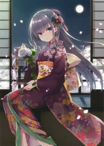 Rating: Questionable Score: 100 Tags: kimono muririn User: Twinsenzw