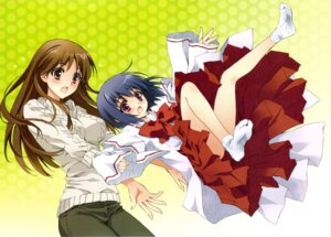 Rating: Safe Score: 42 Tags: carnelian kamisama_dolls kuga_utao miko shiba_hibino User: fairyren