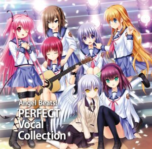 Rating: Safe Score: 20 Tags: angel_beats! disc_cover guitar hisako irie_(angel_beats!) iwasawa key na-ga seifuku sekine tenshi thighhighs wings yui_(angel_beats!) yurippe User: saemonnokami