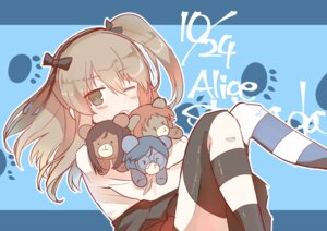 Rating: Safe Score: 11 Tags: girls_und_panzer shimada_arisu tagme thighhighs User: Radioactive
