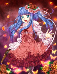 Rating: Safe Score: 7 Tags: furudo_erika gun lolita_fashion tadahiro umineko_no_naku_koro_ni User: 洛井夏石