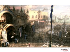 Rating: Safe Score: 13 Tags: assassin's_creed assassin's_creed_2 landscape wallpaper User: nanashioni