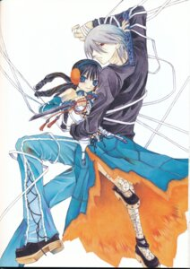 Rating: Safe Score: 5 Tags: alzeid dress endou_minari hatenkou_yuugi rahzel User: yumichi-sama