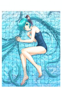 Rating: Questionable Score: 37 Tags: hatsune_miku school_swimsuit swimsuits tsune_(dreamers_express) vocaloid wet User: Mr_GT