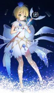 Rating: Safe Score: 18 Tags: card_captor_sakura cholin dress kinomoto_sakura weapon wings User: charunetra