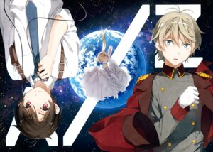Rating: Safe Score: 45 Tags: 5_nenme_no_houkago aldnoah.zero asseylum_vers_allusia dress kaizuka_inaho kantoku slaine_troyard uniform User: Hatsukoi