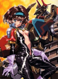 Rating: Questionable Score: 23 Tags: bodysuit breasts kawarajima_koh no_bra open_shirt User: Radioactive