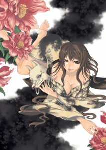 Rating: Safe Score: 13 Tags: cleavage feet yatagarasu yukata User: charunetra