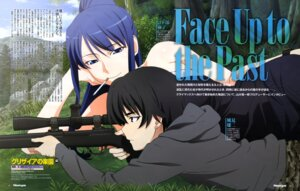 Rating: Safe Score: 26 Tags: grisaia_no_rakuen gun katsura_kenichirou kazami_yuuzi kusakabe_asako smoking User: drop