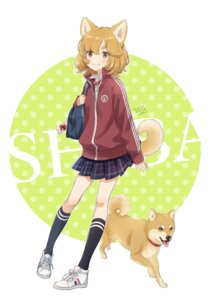 Rating: Safe Score: 34 Tags: animal_ears inumimi morikura_en seifuku tail User: nphuongsun93