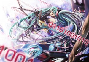 Rating: Safe Score: 10 Tags: 23ichiya hatsune_miku miku_append thighhighs vocaloid vocaloid_append User: eridani