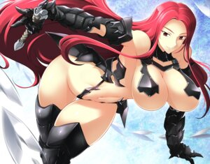 Rating: Questionable Score: 26 Tags: bikini_armor cleavage haganef thighhighs underboob User: mash