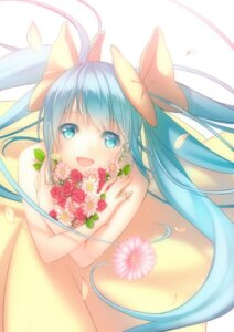 Rating: Safe Score: 34 Tags: dress hatsune_miku nana_mikoto vocaloid User: fairyren