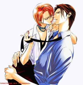 Rating: Safe Score: 3 Tags: mogami_kyouko signed skip_beat tsuruga_ren vector_trace User: charunetra