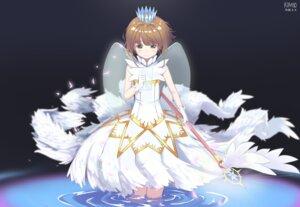 Rating: Safe Score: 21 Tags: card_captor_sakura dress kimyo kinomoto_sakura weapon wet wings User: saemonnokami