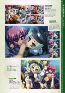 Rating: Explicit Score: 9 Tags: baseson censored chinkyuu fellatio koihime_musou penis ryofu thighhighs User: admin2