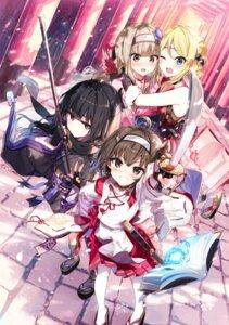 Rating: Questionable Score: 24 Tags: heterochromia japanese_clothes ninja shinoba sword weapon yuri User: Dreista