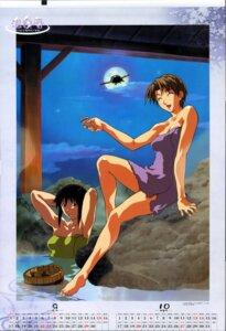 Rating: Questionable Score: 5 Tags: calendar konno_mitsune love_hina onsen urashima_haruka User: Onpu