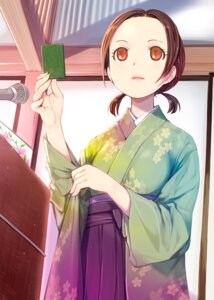 Rating: Safe Score: 14 Tags: chihayafuru japanese_clothes mikazuki_akira oue_kanade User: Spidey