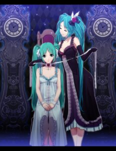 Rating: Safe Score: 32 Tags: hatsune_miku vocaloid yahako User: fireattack