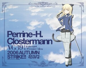 Rating: Safe Score: 10 Tags: perrine-h_clostermann strike_witches wallpaper User: enker