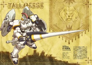 Rating: Safe Score: 7 Tags: gundam gundam_wing mecha profile_page tallgeese weapon User: koo35