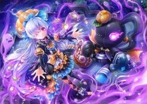 Rating: Safe Score: 24 Tags: halloween hobak king's_raid lavril_(king's_raid) lolita_fashion pantyhose User: Mr_GT