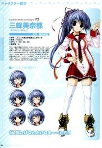 Rating: Safe Score: 10 Tags: clochette mitsumine_minato oshiki_hitoshi profile_page seifuku suzunone_seven thighhighs User: admin2