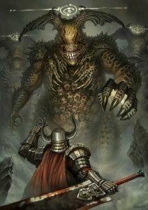 Rating: Safe Score: 16 Tags: armor monster nekoemonn sword User: blooregardo