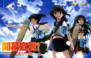 Rating: Safe Score: 28 Tags: akagi_(kancolle) fubuki_(kancolle) kaga_(kancolle) kantai_collection tamaki_shingo thighhighs weapon User: drop