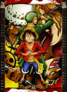 Rating: Safe Score: 11 Tags: calendar eustass_kid male monkey_d_luffy one_piece roronoa_zoro trafalgar_law User: fireattack