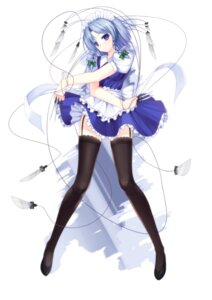 Rating: Safe Score: 88 Tags: caidychen izayoi_sakuya maid stockings thighhighs touhou User: fairyren
