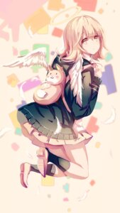 Rating: Safe Score: 45 Tags: dangan-ronpa nanami_chiaki pudding seifuku wings User: Zenex