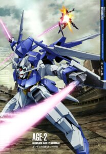 Rating: Safe Score: 19 Tags: gun gundam gundam_age mecha ootsuka_ken sword User: drop