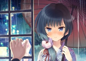 Rating: Safe Score: 41 Tags: kimono komi_zumiko umbrella User: 椎名深夏