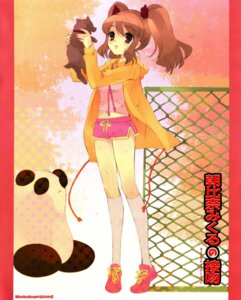 Rating: Safe Score: 11 Tags: asahina_mikuru ito_noizi suzumiya_haruhi_no_yuuutsu User: 样样精通
