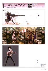 Rating: Safe Score: 8 Tags: guitar gun kozaki_yuusuke pantyhose seifuku sword User: Radioactive