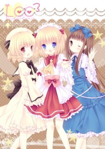 Rating: Safe Score: 40 Tags: dress luna_child mizuse_ruka star_sapphire sunny_milk touhou User: 椎名深夏