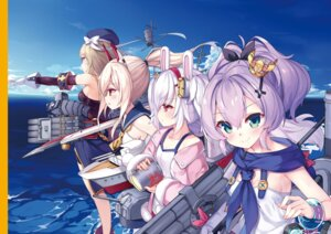 Rating: Safe Score: 25 Tags: animal_ears ayanami_(azur_lane) azur_lane bunny_ears javelin_(azur_lane) kaede_(artist) laffey_(azur_lane) seifuku z23_(azur_lane) User: Twinsenzw