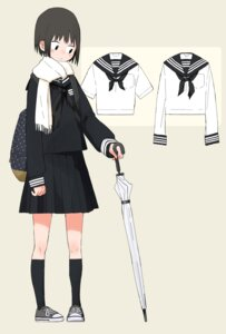 Rating: Safe Score: 15 Tags: character_design kumanoi_(nichols) seifuku umbrella User: Radioactive