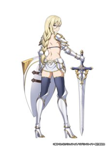 Rating: Questionable Score: 28 Tags: armor ass bikini_armor female_knight goblin_slayer heels sword tagme thighhighs User: megumiok