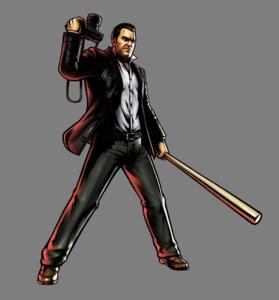 Rating: Safe Score: 2 Tags: baseball dead_rising frank_west male marvel_vs_capcom marvel_vs_capcom_3 transparent_png ultimate_marvel_vs_capcom_3 weapon User: Yokaiou