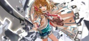 Rating: Safe Score: 19 Tags: clockwork_planet marie_bell_breguet shino_(eefy) sword User: kiyoe